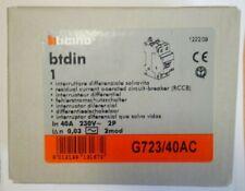 INTERRUTTORE DIFFERENZIALE SALVAVITA BTICINO BTDIN G723/40AC
