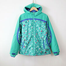 lands end girls 16 XL emerald heart stormer jacket coat excellent condition!