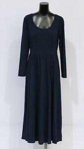 LuLaRoe Women's Ryane Maxi Dress CL5 Navy Large NWT
