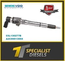 AUDI VW SEAT 1.6 RECONDITIONED INJECTOR 03L130277S A2C9626040080 03L130277B