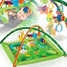 DSCHUNGEL Krabbeldecke Erlebnisdecke Spieldecke Babydecke Decke + Spielbogen Gym