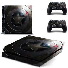 Sony PS4 Console and Controller Skins / Decal -- Captain America (#0004)