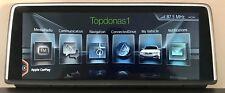 BMW NBT Evo ID5 Apple CarPlay VIM Android Pantalla Espejado activación a través de USB
