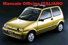 FIAT CINQUECENTO 500 Manuale Officina Riparazione ITALIANO (1991/1998) Sporting