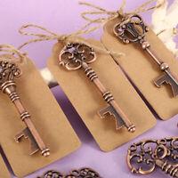 50X Multi antique ouvre-bouteilles de clé avec des faveurs de mariage de Noël L7