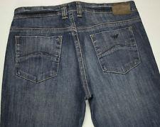 EUC - RRP $299 - Womens Stunning Armani Jeans '007 Series INDIGO' Indigo Jeans
