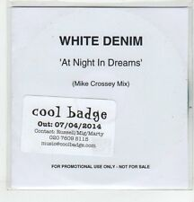 (ER602) White Denim, At Night In Dreams - 2014 DJ CD