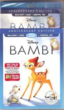 Authentic Disney Bambi Anniversary Edition Blu-ray + DVD + Digital HD Movie