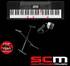 CASIO LK265 Portable Light-Up Digital Keyboard LK-265 +Stand & Adaptor +Warranty