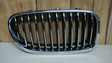 2011 - 2015 BMW 7 Series Right side RH Front Bumper Grille OEM.