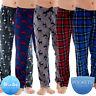 Mens Pyjamas Lounge Pants Fleece Or Cotton Pyjama Bottoms Trousers Nightwear