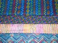 4 FQ Bundle – BOLD GEO Shapes Prints 100% Cotton Quilt Craft Fabric Fat Quarters