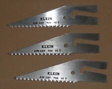 Klein Tools 709 4-Inch Magic-Slot Electrician's Cut-In Blade (3pcs)