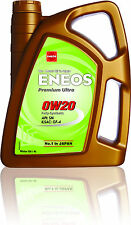 Genuine Japanese Fully Synthetic Engine Motor Oil ENEOS PREMIUM ULTRA 0W20 4L