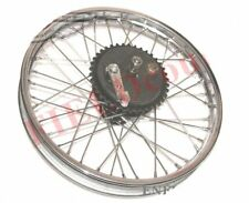 Triumph 350 Rear Wheel Rim With Brake System & Stainless Steel Spokes CAD