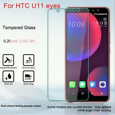 2PCS Quality Premium Tempered Glass Film Screen Protector Cover For HTC U11 eyes