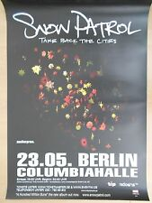 SNOW PATROL  2008  BERLIN  --  orig. Concert Poster - Konzert Plakat  A1  NEU
