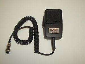 WORKMAN DM-1000 4 PIN TORNADO CB POWER MICROPHONE w/ ECHO FOR COBRA UNIDEN