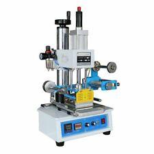 Higa 110v Pneumatic Hot Foil Stamping Press Machine Stamp 116x120mm Logo Printer