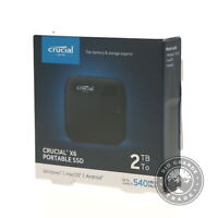 NEW Crucial CT2000X6SSD9 X6 Portable External Solid State Drive SSD - 2TB