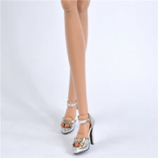 """Sherry silver Shoes for 16"""" Poppy Parker Fashion teen doll & sybarite superdoll"""