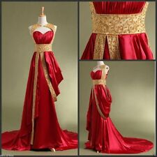 Dubai Arabic Kaftan Beading Long Prom Dresses to Party Gold Evening Gowns Custom