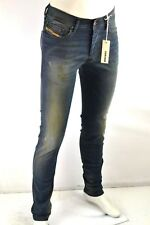 DIESEL TEPPHAR WASH 0607Y Stretch Herren Jeans Slim Carrot Röhrenjeans W26 W27