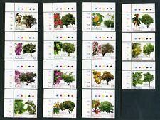 BARBADOS 2005  Flowering trees  Set of 15  SG1266-1280  MNH / UMM