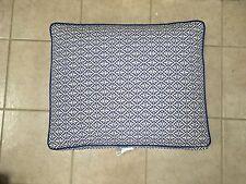 Frontgate Outdoor Kensington ARMLESS CHAIR BACK Cushions Michelle Cobalt Blue