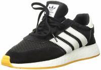 Adidas Mens Original I-5923 Fabric Low Top, Black/Crystal White/Yellow, Size 9.0