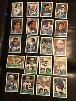 1988 TOPPS FOOTBALL CARD LOT  #118 Thru #137 LOT of 20 cards NM
