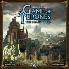 A GAME OF THRONES The Board Game (Second Edition) VGC George R.R. Martin