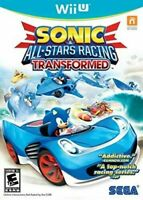 Sonic & All-Stars Racing Transformed Nintendo Wii U Brand New