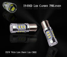 2x Bulbs Reverse 15Smd LED P21W BA15S Bright White 750Lumen Canbus VW Audi BMW