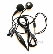 New 3.5mm Headset Headphones Handsfree Earbuds Earphones with Mic Cricket OEM