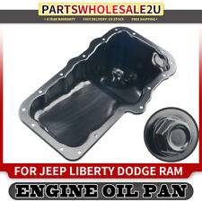 Engine Oil Pan for Jeep Liberty 02-12 Dodge Ram 1500 2002-2010 Dakota Nitro 3.7L