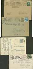 Germany 1948 covers (x3) and card/Elephant cancels
