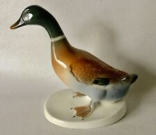 """Alteste VOLKSTEDT Porcelain MALLARD Duck Bird 6 3/4"""" Figurine 7536/1 Germany"""