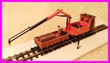 H0e Rottenkraftwagen Handarbeitsmodell NEU Feldbahn Grubenbahn 1:87 Waldbahn