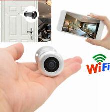 32GB HD 1080P Wireless WiFi Door Peephole Camera Motion Detect Audio Recording