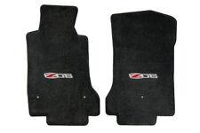 C6 Corvette Z06 2012 Lloyd Velourtex Front Floor Mats w/ Hook and Grommet