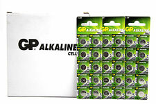 200-Pack GP A76 Batteries Alkaline LR44 1.5V AG13 A76 SR44 357 Coin Button Cell