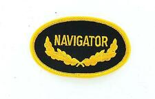 Patch patches embroidered iron on backpack navigator military us navy yacht