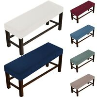 Bench Cover Stretch Stool Cover Bench Slipcover Party Decor wrinkle-resistant