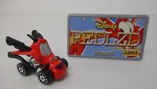 2002 Hasbro Disney Wild Racers MUSHU Mulan Dragon Diecast Race Car License Plate