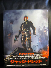Dredd [Japan] 3D Blu-Ray Steelbook Open Mint Region B RARE Sci-Fi Action
