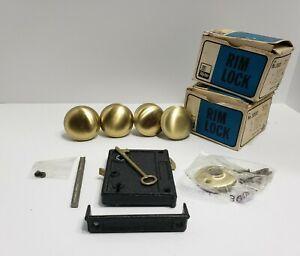 Vintage RIM LOCK Lockset Upright Style Taylor Lock Co 3000 Great Shape