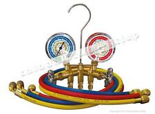 2 - way manifolds+ 3 hoses 90cm - Mastercool 33636-M mangueras colectores