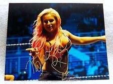 WWE Diva Natalya Signed 8x10 Photo Auto AKA Natalie Katherine Neidhart