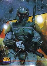 STAR WARS GALAXY SERIES 3 PROMOTIONAL CARD BOBA FETT